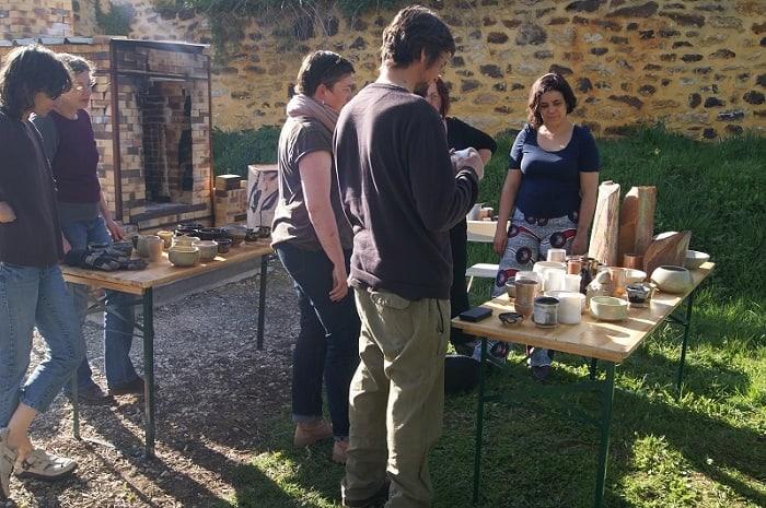 Visite et ateliers au Couvent de Treigny