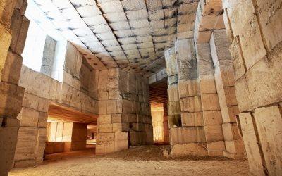 Visites guidées et ateliers taille de pierre à la carrière d'Aubigny