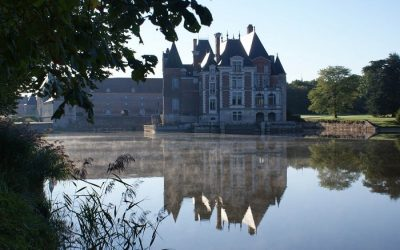 Visite du Château de la Bussière